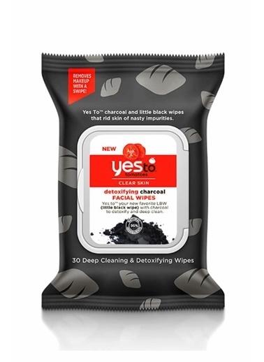 Yes to Yes To Kömür Arındırıcı Yüz Temizleme Mendili 30 Adet Renksiz
